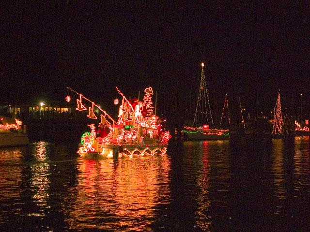 Boat-Parade Morro Bay, CA